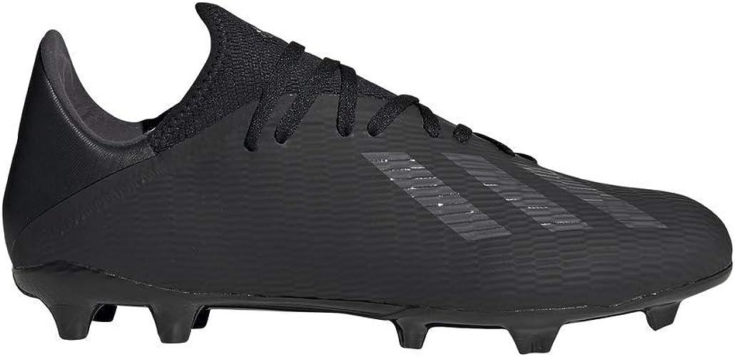 adidas Men Football Shoes Boots Studs X 19.3 FG Soccer Cleats Black New