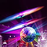 RC Flying Ball, Crystal Flashing LED Light Flying ball RC Toy RC infrared Induction Helicopter for Kids, Teenagers Colorful Flyings for Kids Toy