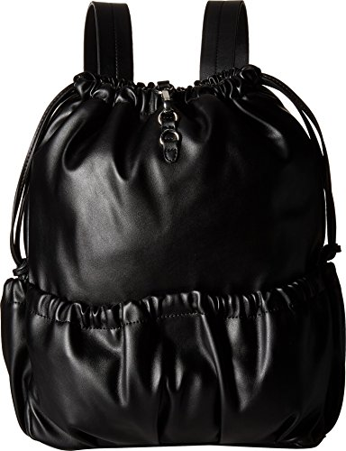 French Connection Women's Dane Drawstring Backpack Black Backpack