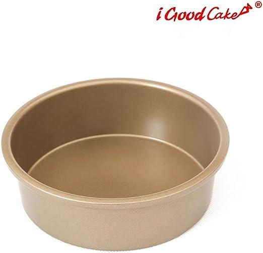 iGoodCake Molde Redondo Dorado /Ø 15 x 5 cm