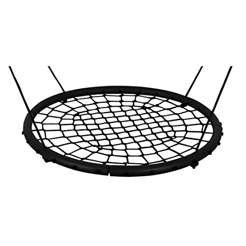 """Price comparison product image 24""""or 40"""" Disc Giant Nest Web Net Tree Swing Monkey Rope Hanging Swing Seat Sets Heavy Duty For Garden Backyard Outdoor For Kids Children Adult By Hi Suyi"""