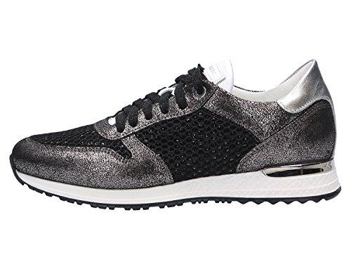 Noclaim Damen Sneaker Schwarz