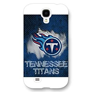 Customized NFL Series For Case Iphone 4/4S Cover , NFL Team Tennessee Titans Logo For Case Iphone 4/4S Cover , Only Fit For Case Iphone 4/4S Cover (White Frosted Shell)