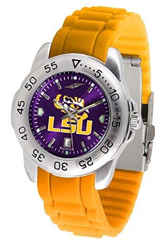 (LSU Tigers Sport Silicone Men's Watch)