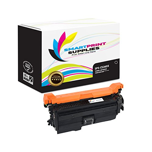 Smart Print Supplies Compatible 649X CE260X Black High Yield Toner Cartridge Replacement for HP Laserjet CP4025 CP4525 Printers (17,000 Pages)