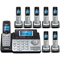 Vtech DS6151 Base with 7 Additional DS6101 Cordless Handsets Bundle