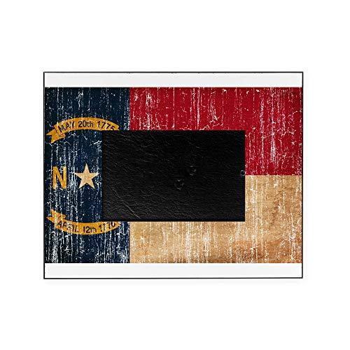CafePress North Carolina Flag Decorative 8x10 Picture -