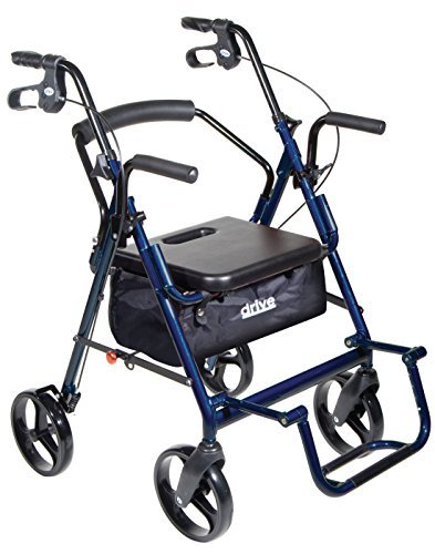(Transport Chair and Rollator in 1 XL)