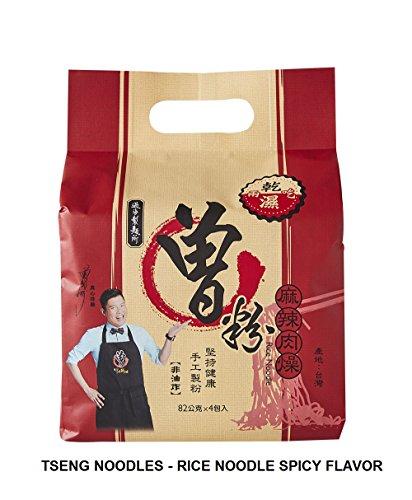 Tseng Noodles Rice Noodle, Spicy Flavor, 11.57 Ounce