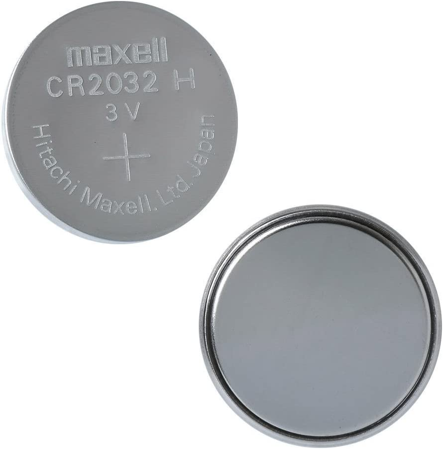 CR2032 Maxell LITHIUM 5 BATTERIES