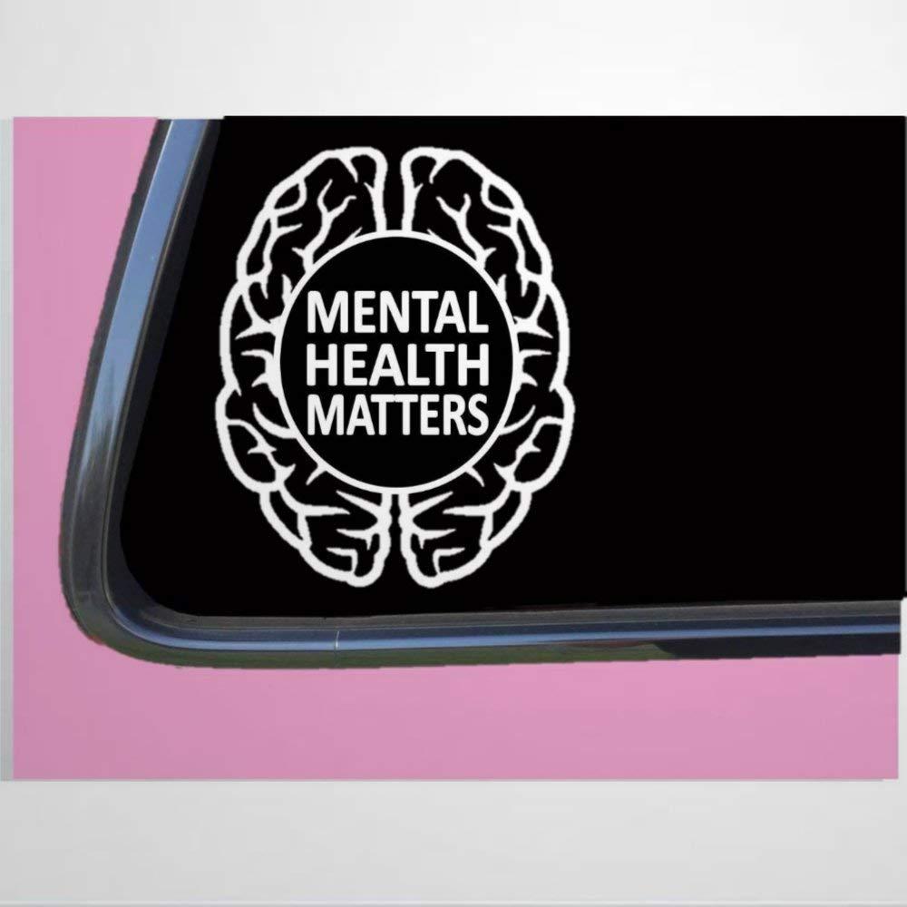 Mental Health Matters auto Sticker,Vinyl Car Decal,Decor for Window,Bumper,Laptop,Walls,Computer,Tumbler,Mug,Cup,Phone,Truck,Car Accessories