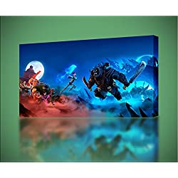 Trollhunters CANVAS PRINT Home Wall Decor Giclee Art Poster Kids CA802, Large
