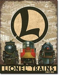 Desperate Enterprises Lionel Trains Legacy Metal Tin Sign 125 X 16