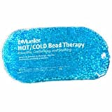 Mueller 32551 Blue Beaded Hot / Cold Pack Therapy Bag Microwavable Freezer Safe Pack of 4