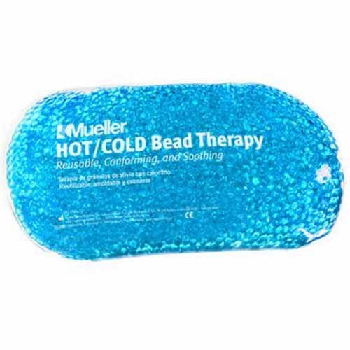 Mueller 32551 Blue Beaded Hot / Cold Pack Therapy Bag Microwavable Freezer Safe Pack of 5 by Mueller (Image #1)