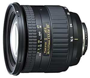 Tokina AT-X 16.5-135 DX (Canon) - Objetivo (15/9, Automático/Manual, 16,5 - 135 mm, Canon EOS, BH-777., Transparente, Negro)