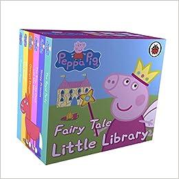 PEPPA PIG - FAIRY TALE LITTE LIBRARY: Amazon.es: Holowaty, Lauren ...