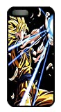 iPhone 5S Case, iPhone 5S Case, Slim Fit Crystal Clear Case Bumper for iPhone 5S dragon ball z para subir a facebook Absorption Clear Hard Case for iPhone 5S