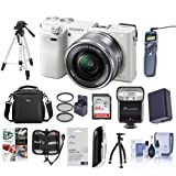 Sony Alpha A6000 Camera Bundle with 16-50 Lens. Value Kit with Accessories Review