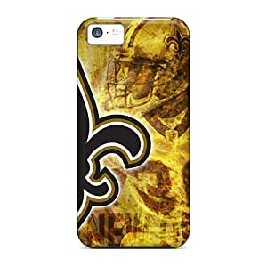 Anti-scratch And Shatterproof New Orleans Saints Phone Cases For Iphone 5c/ High Quality Tpu Cases