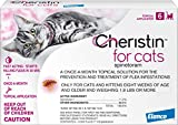 Elanco Animal Health Cheristin for Cats Topical Flea Treatment and Prevention - Long Lasting and Fast Acting Cat Flea Treatment, 6 Monthly Doses