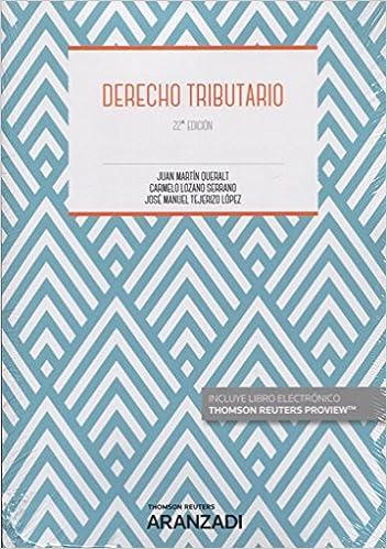 Book DERECHO TRIBUTARIO 22'ED (DUO)