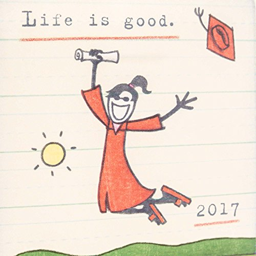 Hallmark Class of 2017 Graduation Greeting Card for Her (Life is Good, Class Dismissed) Photo #6
