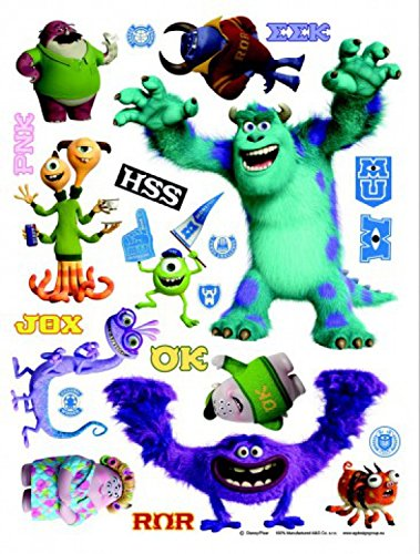 1art1 Monsters, Inc. Poster-Sticker Wall-Tattoo - Mike and Sulley (34 x 26 inches)]()