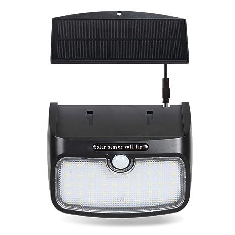 Lámpara de Pared Solar, T-SUN Lámpara de Seguridad Solar con Sensor de Movimiento