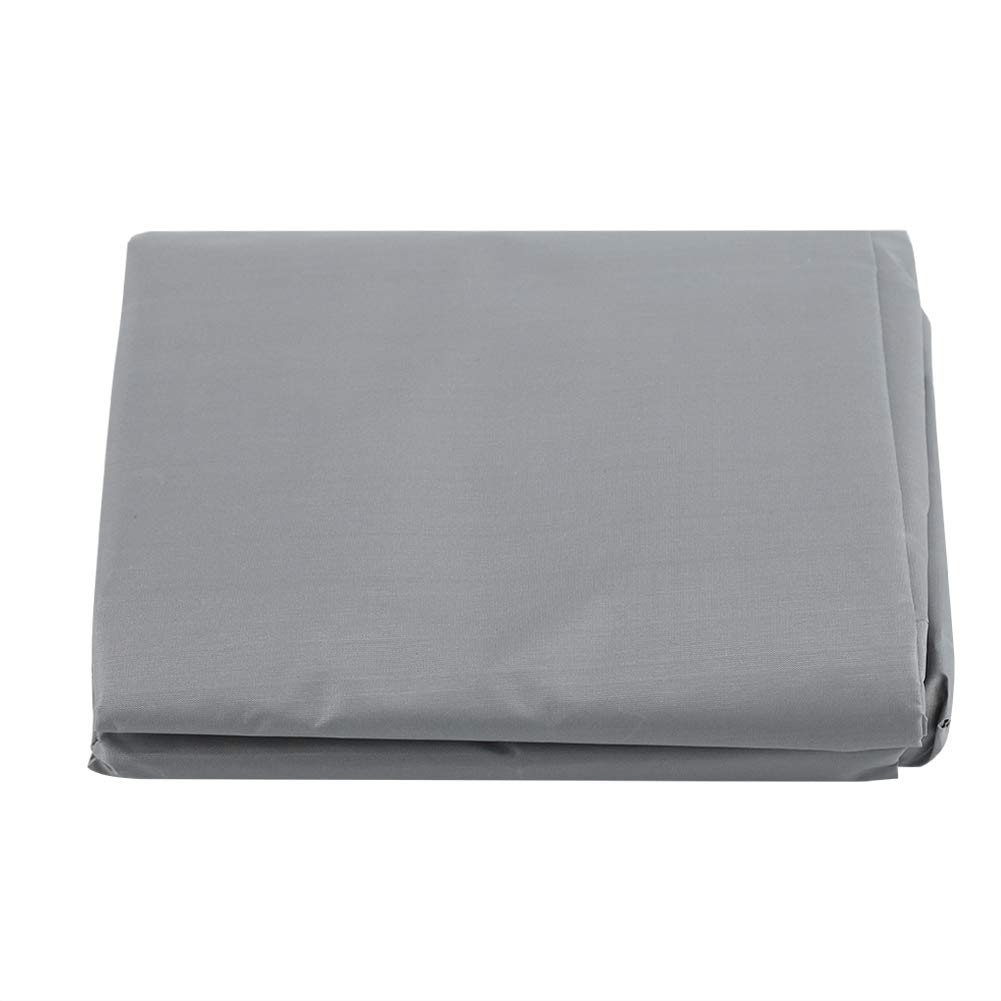 Fdit Waterproof Swing Seat Top Cover Outdoor Rainproof Durable Anti Dust Protector (Gray)