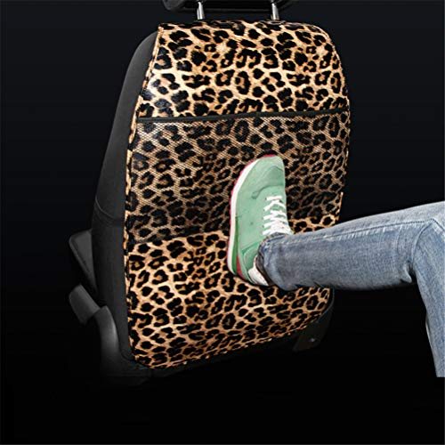 Car Seat Protector Covers, Kick Mat Auto Backseat Covers With Organizer Pockets, Waterproof Kick Guards To Protect Your Leather Seats From Damage,Leopardprint2,1Pcs: Amazon.co.uk: Kitchen & Home