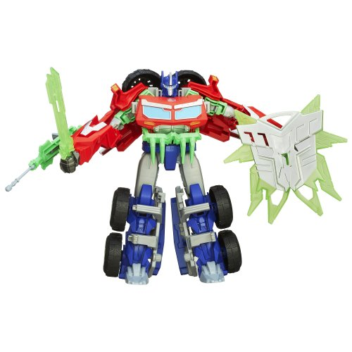 Transformers Prime Beast Hunters Voyager Class Optimus Prime Action Figure (Transformers Prime Toys Optimus Prime Beast Hunters)