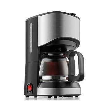 Filtro para máquina de café, máquina de café programable, molinillo, tirador Filtro para máquina de café, 700 ml, Negro y Rojo, negro: Amazon.es: Jardín