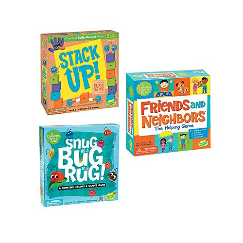- Stack Up!, Friends and Neighbors and Snug as A Bug In A Rug: Set of 3