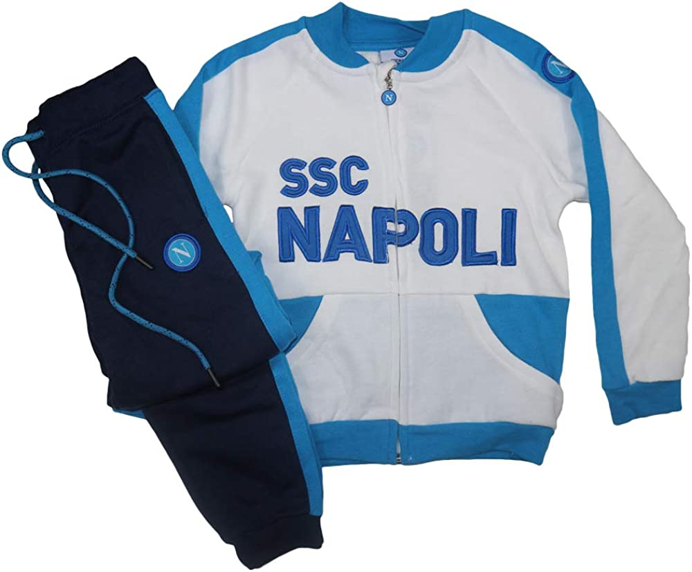 ssc napoli Tuta Felpata Neonato//Bambino N90561-N90537-N90562
