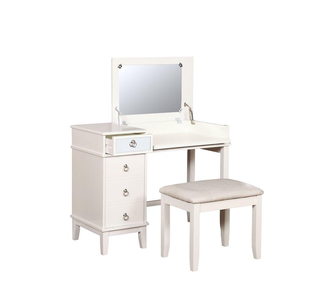 LinonVanity Set, White