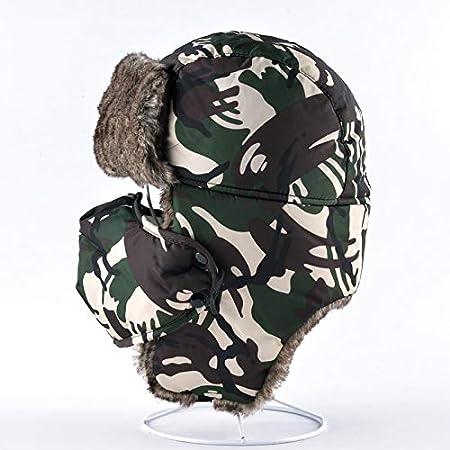 Amazon.com: Dunnomart Máscara Camuflaje Sombreros Mujer ...