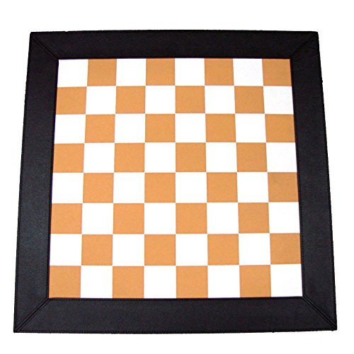 Equipo de juego de mesa de estrategia de ajedrez recreativo, marrón / blanco