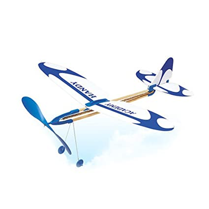 ACADEMY HANDY RUBBER BAND-POWERED MODEL AIRPLANE KIT #18500
