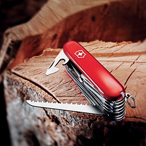 046928535019 - Victorinox Swiss Army SwissChamp Pocket Knife, Red carousel main 4