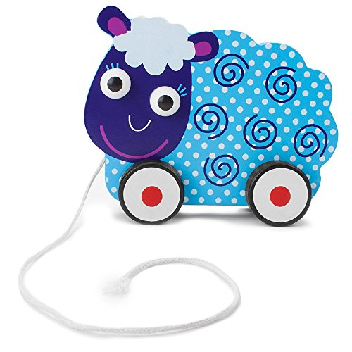 - Imagination Generation Wooden Wonders Push-n-Pull Swirly Sheep Toy