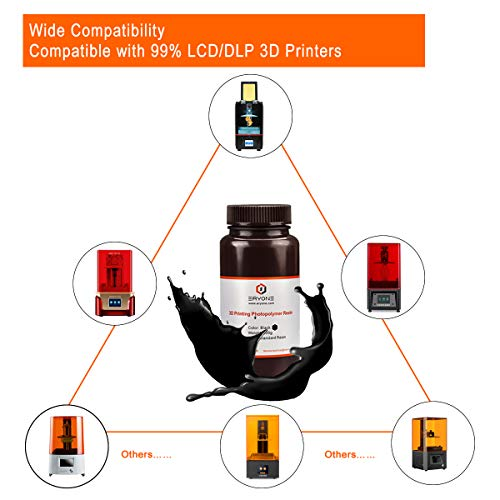ERYONE 405nm Resina UV para impresora DLP LCD 3D Fotopolímero ...