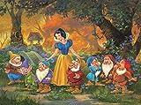 Ceaco Snow White Among Friends Disney Fine Art Puzzle-1000 Piece