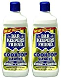 Set of 2 Bar Keepers Friend Cooktop Cleaner 13 Ounce