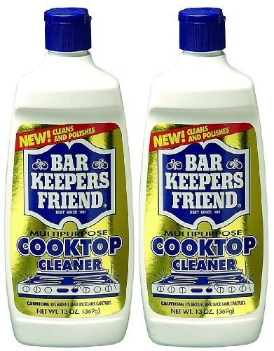 Bar Keepers Friend Soft Liquid Safely Removes Stains from Glass and Ceramic Cooktop Cleaner Is Specially Formulated to Clean and Po 13 Ounce