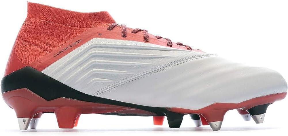 adidas Predator 18.1 SG, Zapatillas de Fútbol para Hombre Blanco Ftwwht Cblack Reacor Ftwwht Cblack Reacor