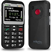 Snapfon ezTWO Senior Unlocked GSM Cell Phone, SOS Button,...