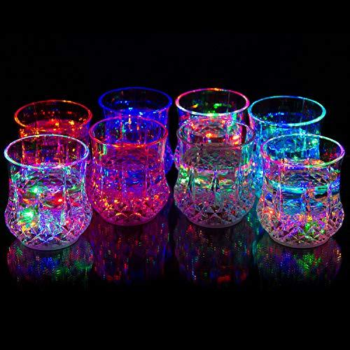 Led Light Champagne Glasses in US - 6