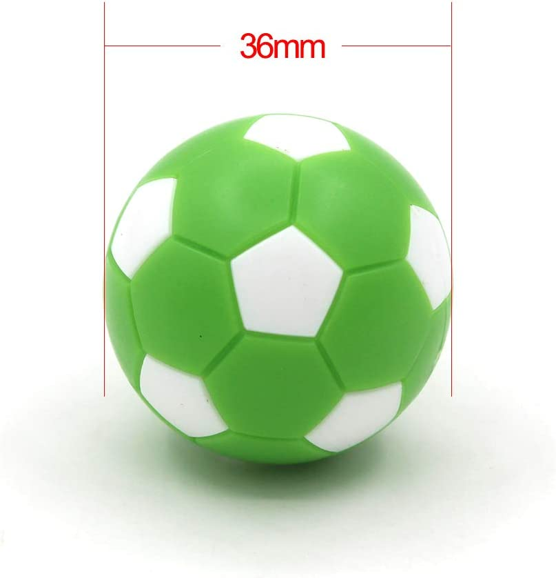 Table Soccer Foosballs Replacement Multicolor 36mm Official Foosball Mini Balls