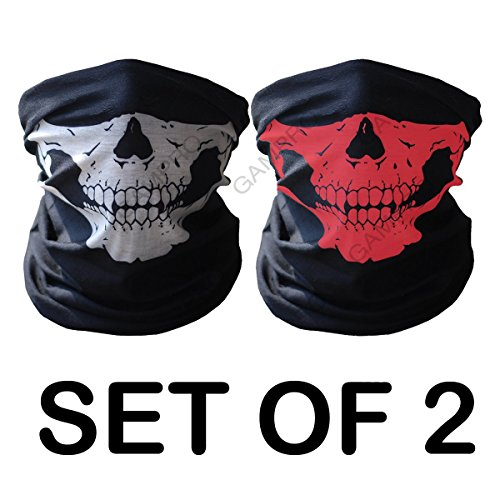 GAMPRO-Universal-Seamless-Tube-Skull-Face-Mask-Dust-proof-Windproof-Motorcycle-Bicycle-Bike-Face-Mask-for-Cycling-Hiking-Camping-Climbing-Fishing-Hunting-Jogging-Motorcycling
